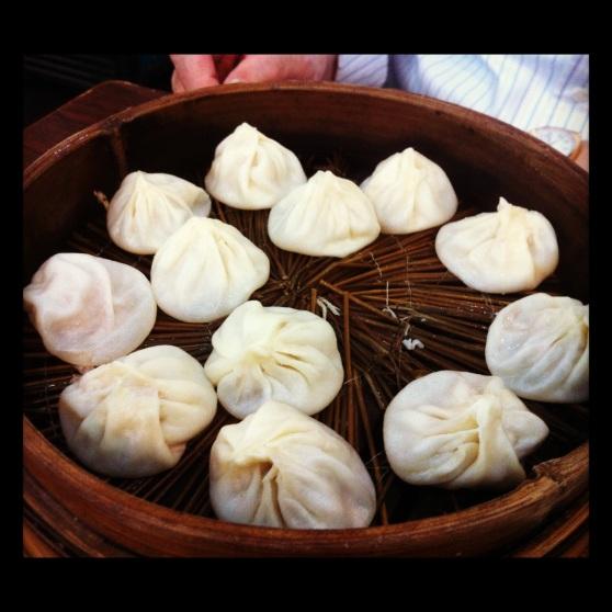 Shanghai Soup Dumplings at Lin Long Fang in Shanghai