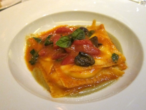 Burrata Cheese Ravioli