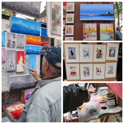 Montmarte Artists