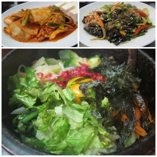 Korean Food at Paris's Dawa