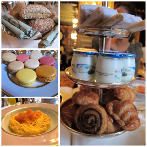 Brunch at LaDuree