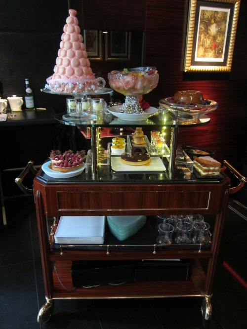 Dessert Cart at Joel Robuchon