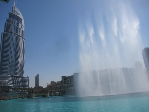 Outside of the Dubai Mall is a Fountain Show Every 30 Minutes