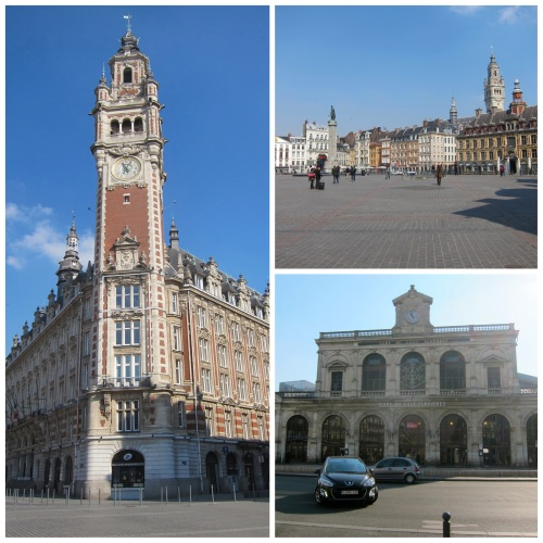 Lille: Vieille Bourse, Grand Place and Lille Flandres Train Station