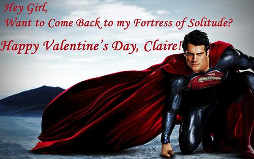 Henry Cavill Valentine