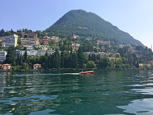 Lugano Boat Ride
